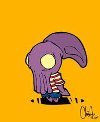 squid head boy by cheesyniblets