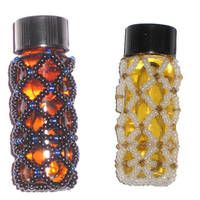 Beaded vials by Jassenah