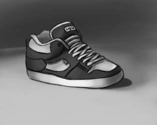 Skate Shoe by djantir
