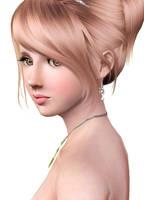 My sim3 character Caroline 02 by kataneriel