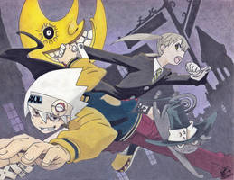 Soul Eater - Colored by lamoco-13