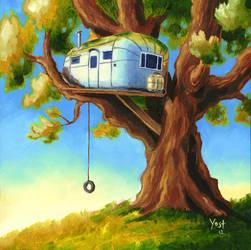 Treehouse by Varin-maeus