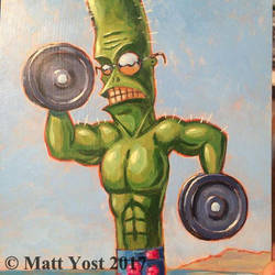 Bob the Meathead Cactus by Varin-maeus
