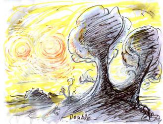 Tree'N 'Ktober - Day 29 - Double by Kakhi-dot-dot-dot