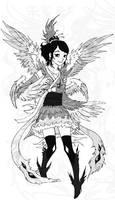 Phoenix girl by Mootdam