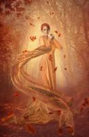 Fallen leaves by LaDeaBendata