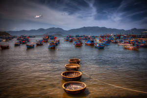 Fishing boat parking by Monktwins