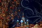 New Year postcard from Moscow by Monktwins