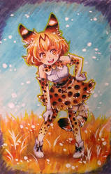 Sparkly Serval by Author-chan