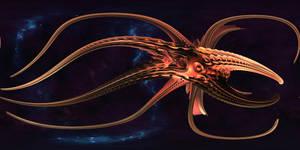 Alien squid by kronpano