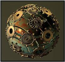 Modified Iris Sphere by kronpano