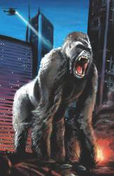 Kong Painting by KillustrationStudios