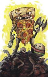 Party Pizza RULZ by KillustrationStudios
