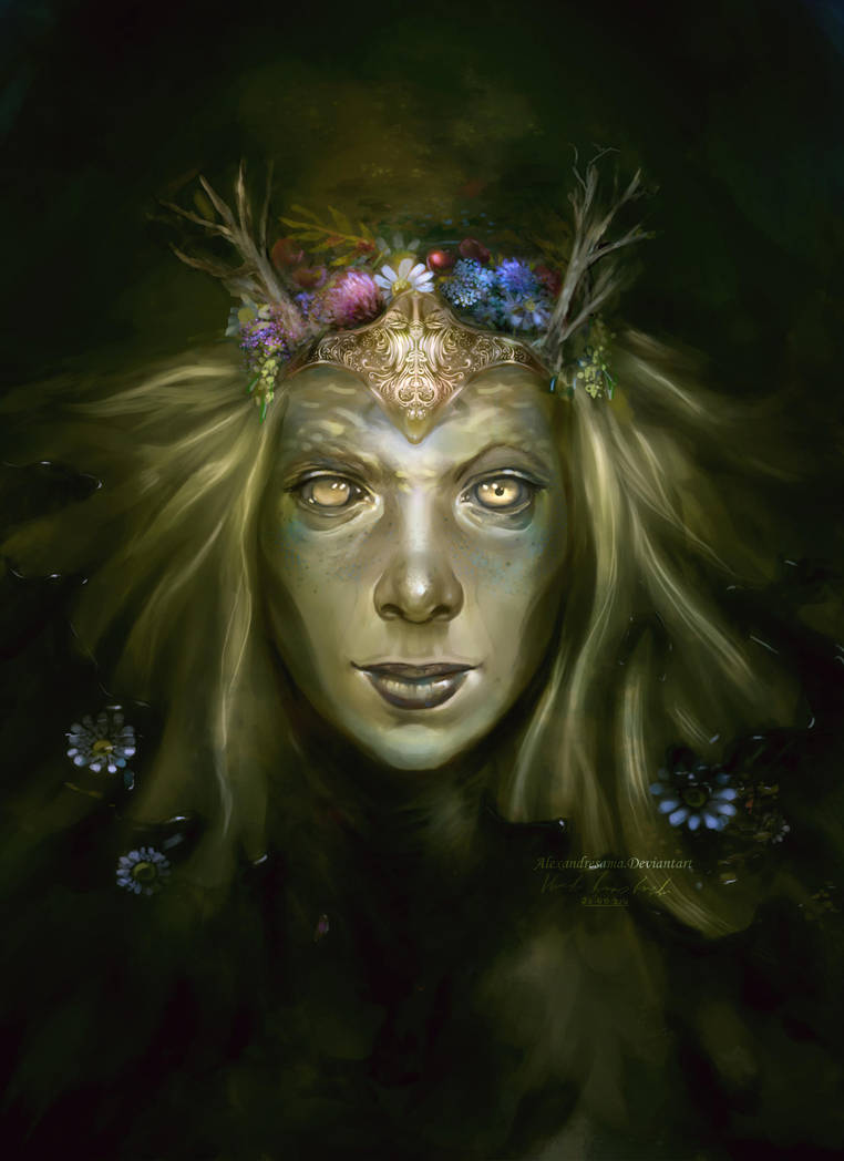 Undead Dyrad by alexandresama
