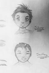 Character Sketches by mystic-eye-art9871