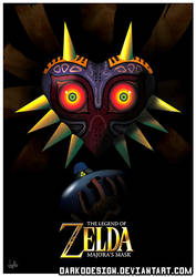 Prelude to Majora's Mask Poster by DarkoDesign by DarkoDesign