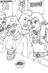 Elliot's Birthday Party by AzabacheSilver