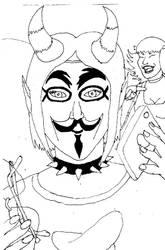 WofAza:AnonymUnis by AzabacheSilver