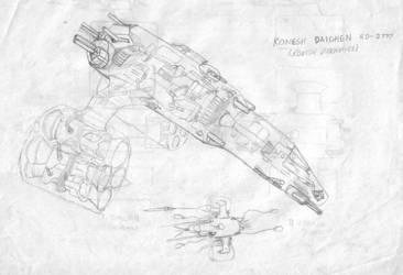 Noeir Raydr Ship 1 by AzabacheSilver