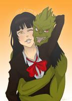 Com: Misa x Drago by Komodo-Fisher