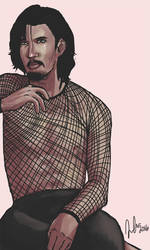 Adam Driver by Komodo-Fisher