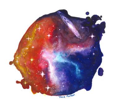 A drop of cosmos. by TracieMacVean