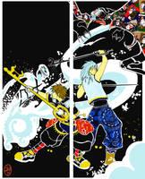 Kingdom Hearts II by sumimasen