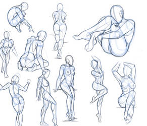 pose study 4 by hel78