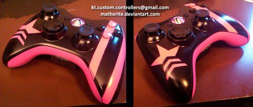 Renegade Controller - Mass Effect - Pink by matherite