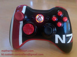 N7 Controller for Mass Effect 3 by matherite