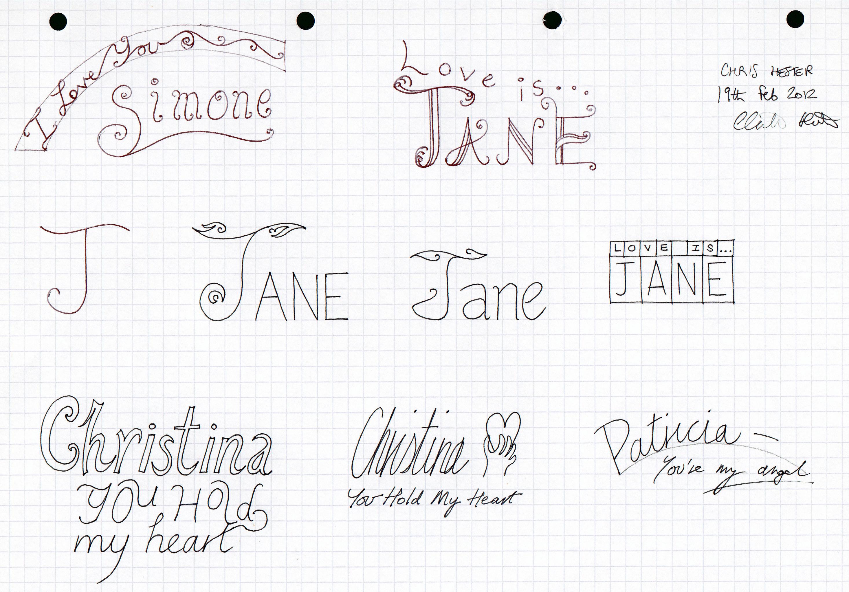 Girl's Names 2 by christopherhester