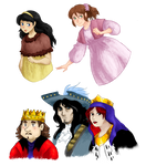 Alice et Wendy - Characters by Misical