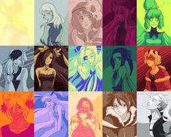 [Zanuelle] Color Palette Challenge by Misical