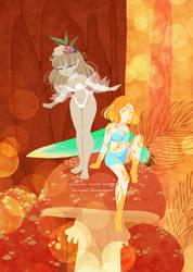 Autumn Fairies by Misical