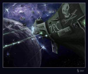 Space Pirate Zombies by GenjiLim