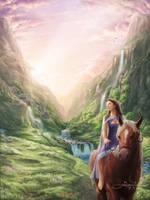 Valley Refuge by GenjiLim