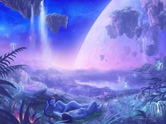 Na'vi Sweethearts by GenjiLim