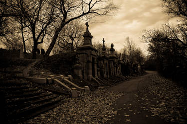 Mausoleums by MarieHalle