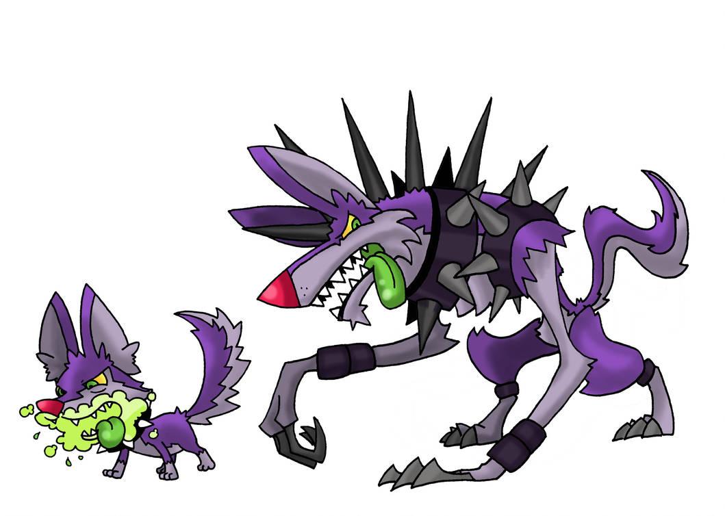 Fakemon A Pedido 002 Coyote By Emiliano Roku On Deviantart