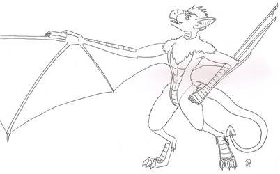 Gale's wings by patmax17