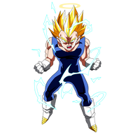 Vegeta Super Saiyan 2 by Dark-Crawler
