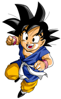 Son Goku by Dark-Crawler