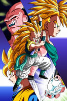 Poster #6: Gotenks Super Saiyan 3 by Dark-Crawler