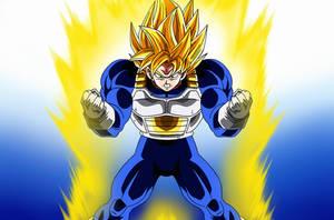 Poster #8: Son Goku Super Saiyan Third Grade by Dark-Crawler