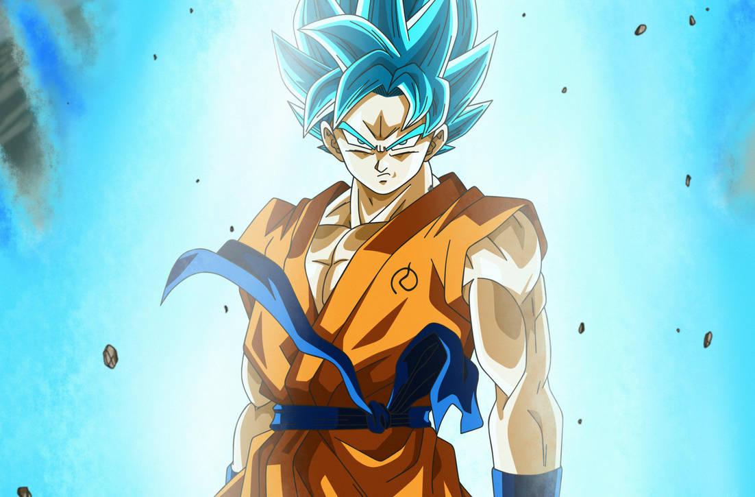 Poster #9: Son Goku Super Saiyan Blue By Dark-Crawler On
