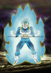 Commish #13: Gohan Super Saiyan Blue by Dark-Crawler