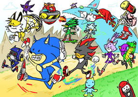 a SONIC tribute by LeSam