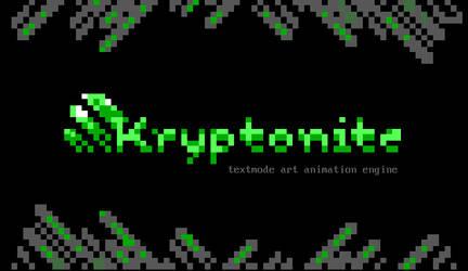 Kryptonite logo by enzo