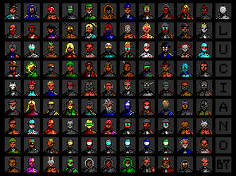 100 Avatars by enzo