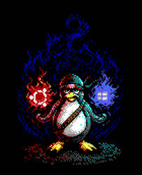 Ninja Penguin - Windows 10 and Ubuntu by enzo